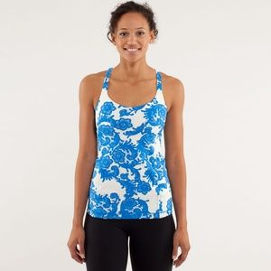 Lululemon Free To Be Me Tank Top in Laceoflage